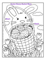 easter bunny maze page link