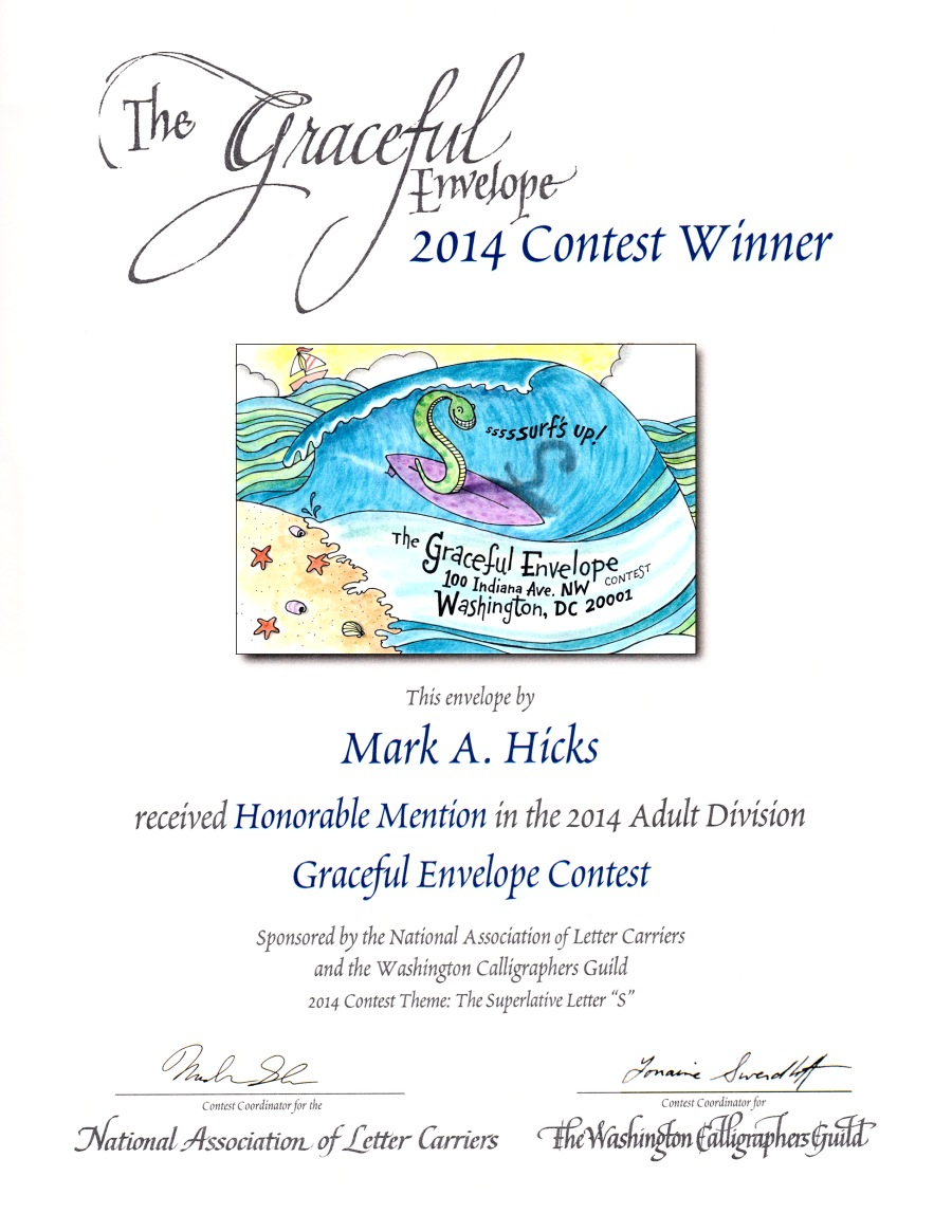 The Graceful Envelope Honorabe Mention Award 2014